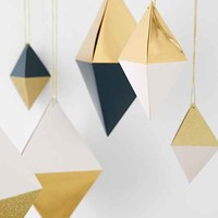 Hanging Diamond Box Decoration Set- Black One