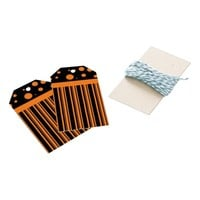 Orange and Black Pack Of Gift Tags