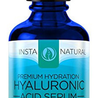 InstaNatural Hyaluronic Acid Serum - Best Anti-Aging Skin Care Product for Face - With Vitamin C Serum, Vitamin E & Green Tea - Reduces Wrinkles, Fine Lines & More - For Youthful & Radiant Skin - 2 OZ