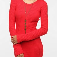 Silence & Noise Mixed Stitch Sweater Dress