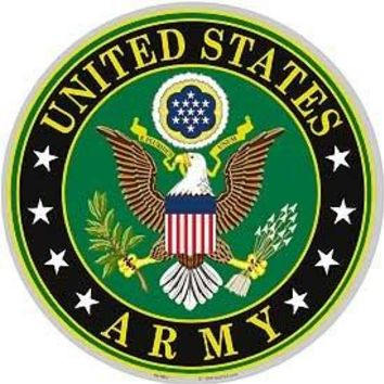United States Army Logo Aluminum Sign 12""
