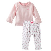 OshKosh B'gosh French Terry Top & Pants Set - Baby Girl, Size: