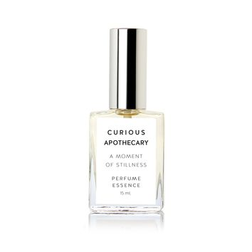 Moment of Stillness perfume. Sandalwood Rose Woods by Curious Apothecary