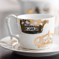 Rosanna Kings Road Redux Mugs Set of 4