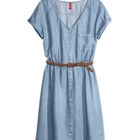 Lyocell Dress - from H&M