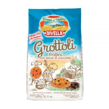 Divella Grottoli Chocolate Chip cookies, 14.11 oz (400 g)