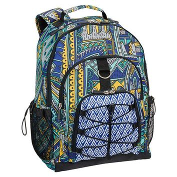 Zio Ziegler Color Pattern Backpack