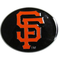 San Francisco Giants MLB Logo Belt Buckle