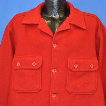 70s Boy Scouts of America Wool Jacket Large
