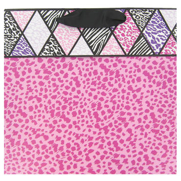 Pink Leopard Gift Bag with Cuff   Hobby Lobby   420687