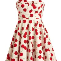 Cherry Jubilee Dress | Katy Perry Printed A-Line Dresses | Rickety Rack