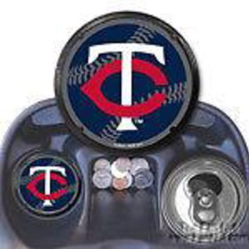 Minnesota Twins 2-pack Coaster Air Freshener Auto Car Truck Baseball