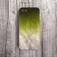 GREEN Phone Case Wood Print iPhone 4 Case Wood Print iphone 5 Case iPhone5s Case Wood Galaxy S4 Case iPhone Case Valentines Gifts for Him