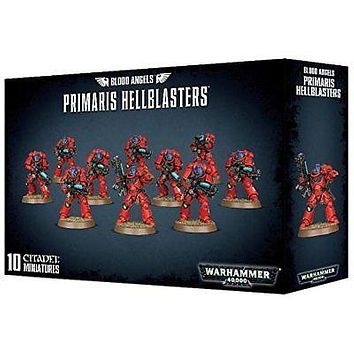 Blood Angels Primaris Hellblasters Warhammer 40k Games Workshop