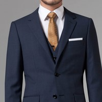 ESSENTIAL BLUE THREE-PIECE SUIT