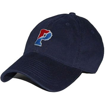 UPenn Needlepoint Hat in Navy by Smathers & Branson