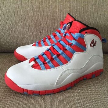 AIR JORDAN 10 (WHITE / RED / CHICAGO)