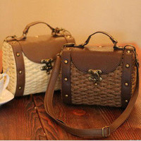 Cute Woven Shoulder bag Handbag