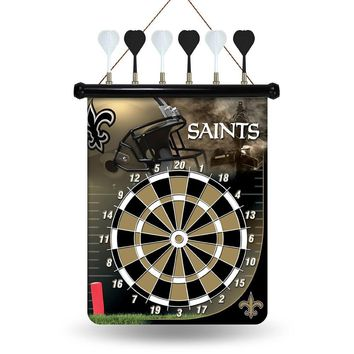 New Orleans Saints NFL Magnetic Dart Board