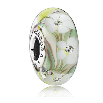 Authentic Pandora Jewelry - Wildflowers Murano