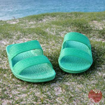 Green Jandals® - Pali Hawaii Sandals