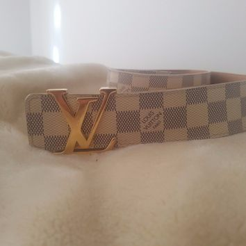 Louis Vuitton belt 100% orginal bought in Paris LV boutique