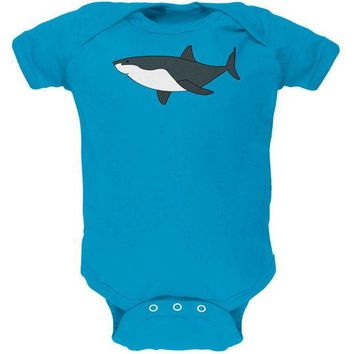 LMFCY8 Great White Shark Cute Soft Baby One Piece