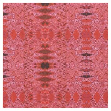 Red Texture Pattern Fabric