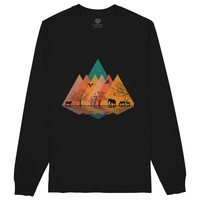 Nature And Animal Long Sleeve T-shirt