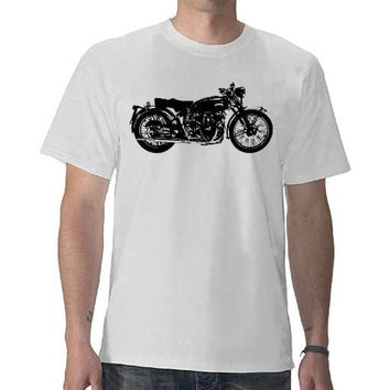 Vincent Black Shadow Tshirt from Zazzle.com