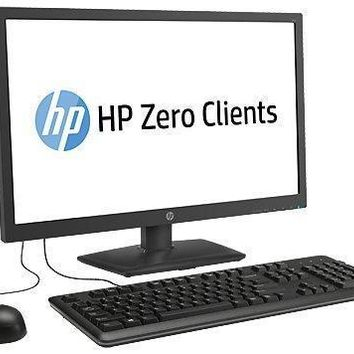 """HP T410 SMART ALL-IN-ONE Monitor Keyboard Mouse Zero Client ARM Cortex A8 1.0GHz 2GB 18.5"""" (1366x768) H2W21AA"""