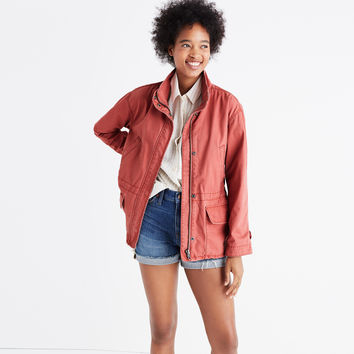 Prospect Jacket in Spiced Rose : | Madewell