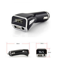 LCD Display Car MP3 Player FM Transmitter Cigarette Lighter USB Car charger AUX
