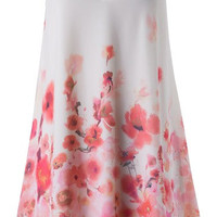 Sprinkle Me with Cherry Blossoms Trapeze Dress