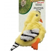 SPOT Skinneeez Jumbo Goldfinch for Cats