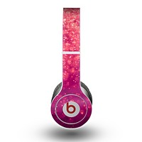 The Unfocused Pink Glimmer Skin for the Beats by Dre Original Solo-Solo HD Headphones