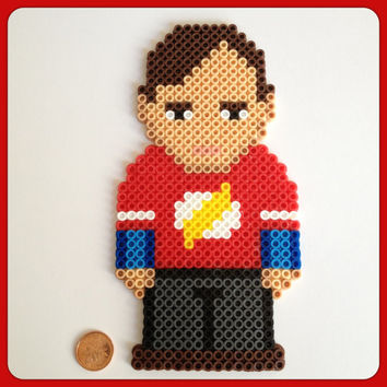 Big Bang Theory Sheldon Cooper Perler Wall Art or Magnet