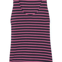Chinti and Parker | Striped organic cotton vest | NET-A-PORTER.COM