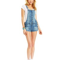 Celebrity Pink Jeans Juniors' Shorts Overalls