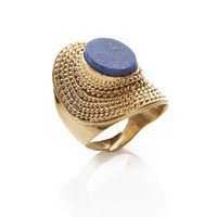 Blue Stone Benizar Ring - SHOP LATITUDE BAZAAR, MUMBAI Blue Stone Benizar Ring