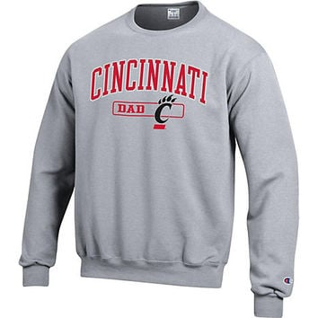 University of Cincinnati Dad Crewneck Sweatshirt | University of Cincinnati
