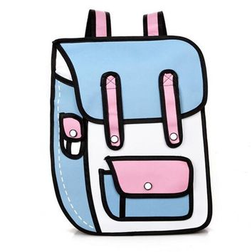 DRAW THE LINE 2D BACKPACK
