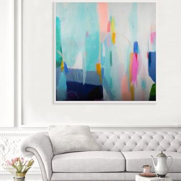 abstract colorful painting original abstract painting, modern, original acrylic abstract art, abstract modern wall art