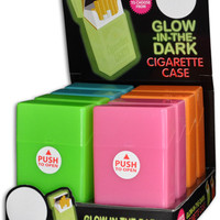 glow in the dark cigarette case Case of 24