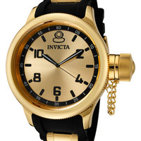 Invicta Men's Russian Diver Two Tone Watch, 52mm - Gold