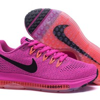 """Nike Zoom All Out Low"" Women Sport Casual Fly Line Knit Air Cushion Sneakers Running Shoes"