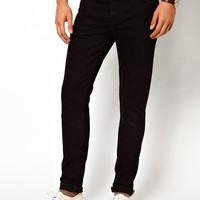 ASOS | ASOS Skinny Jean In 11.5oz Black Denim at ASOS