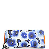 Marc by Marc Jacobs - Floral Slim Zip-Around Wallet - Saks Fifth Avenue Mobile