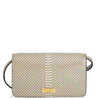 West 57th Metallic Snake XL Smartphone Crossbody