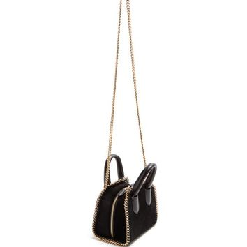 Falabella Box velvet cross-body bag | Stella McCartney | MATCHESFASHION.COM US